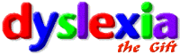 Dyslexia the Gift site logo
